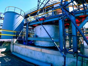 Chemical Tank Installation