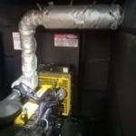 Flextra Exhaust cover on diesel generator