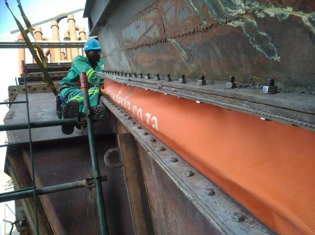 Flextra Expansion Joint installation