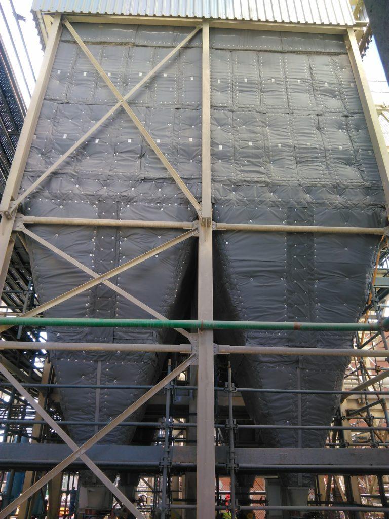 Flextra Full bag-house insulation system