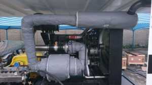 Insulation for marine applications