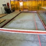 Flextra Large fabric expansion joint and metal flow plates